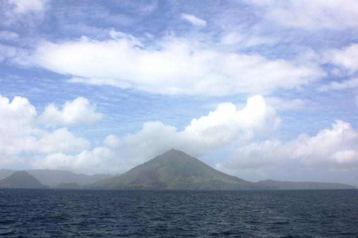 Arrival in the Banda Islands